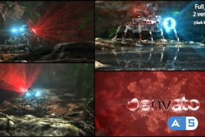 Videohive Robot Scan 20614660