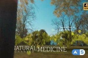 Videohive Medical Marijuana DNA Strand Intro 26593710