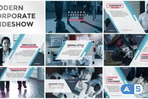 Videohive Modern Simple Corporate Slideshow 21745878