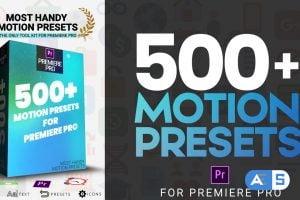 Motion Array Most Handy Motion Preset For Premiere Pro 208126