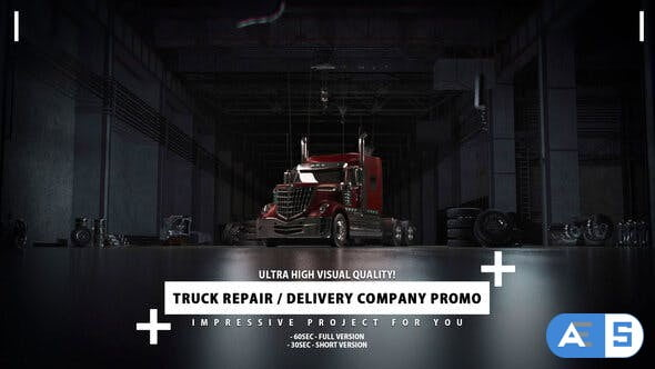 Videohive Delivery Company and Truck Repair Promo 27480795