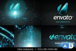 Videohive Particle Rays Logo Reveal 2639592