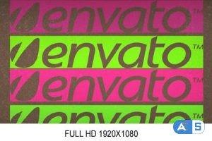 Videohive Glitchy Colorful Logo 3633477