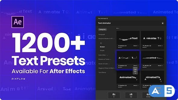Videohive Text Animator – One Click Text Presets 24165802