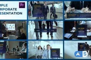 Videohive Simple Corporate Presentation – Premiere Pro 23713024
