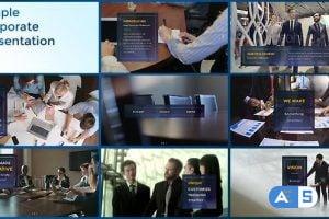 Videohive Simple Corporate Presentation 19261194