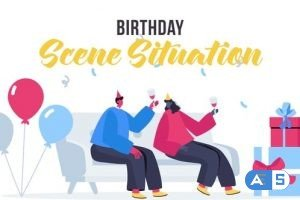 Videohive Birthday – Scene Situation 27642150