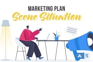Videohive Marketing plan – Scene Situation 27642596
