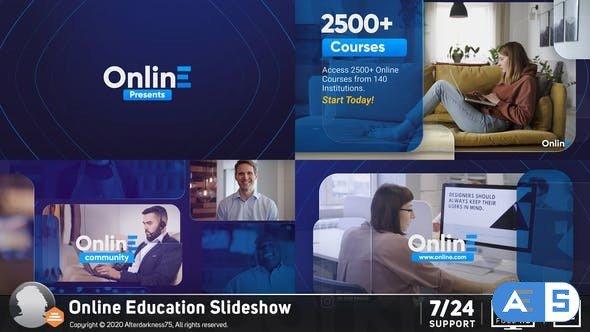 Videohive Online Education Slideshow 26737959