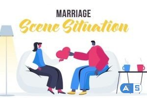 Videohive Marriage – Scene Situation 27642623