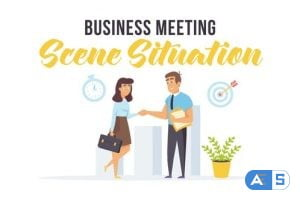 Videohive Business meeting – Scene Situation 27596966