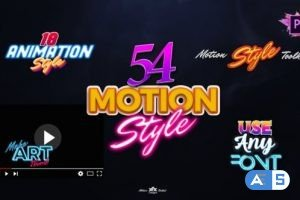 Videohive Motion Styles Toolkit   Text Effects & Animations For Premiere Pro Mogrt 27115729