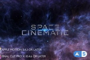 Videohive Space Cinematic Titles – Apple Motion 27804958
