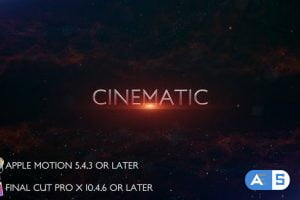 Videohive Cinematic Trailer Titles – Apple Motion 27804974