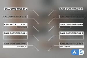 Videohive Minimal Call Outs 24644558