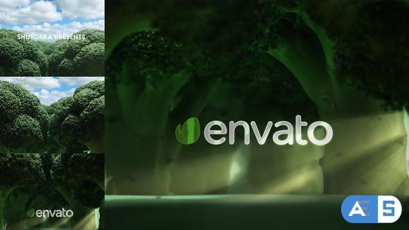 Videohive Broccoli Logo Opener | Nature, Ecology, Vegetarianism 25039371