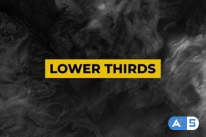 Videohive Auto Resize Lower Thirds 24625195