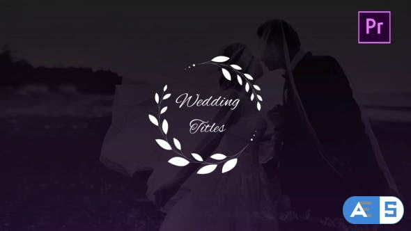 Videohive Wedding Titles 27001460