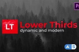 Videohive Modern Lower Thirds 26800518