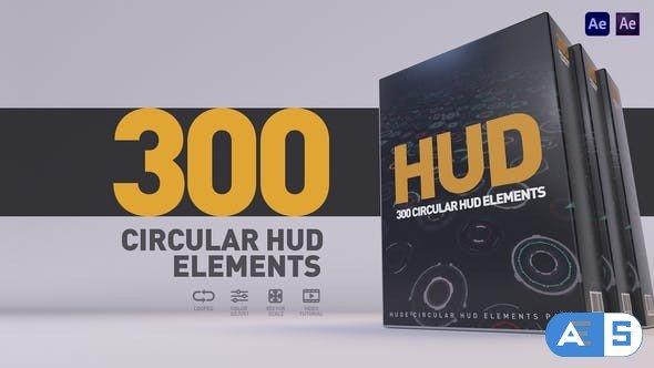 Videohive HUD 300 27596143