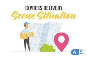 Videohive Express delivery – Scene Situation 27597171