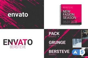 Videohive Grunge Broadcast Package 21319891