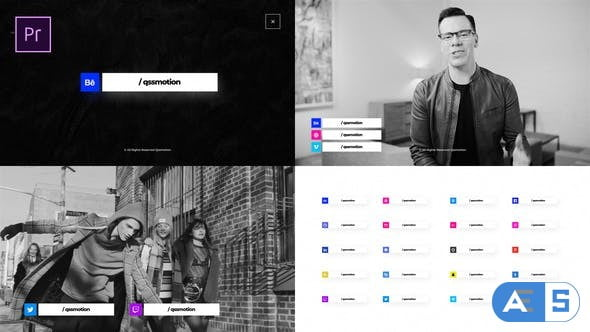 Videohive Social Media Package 25289969
