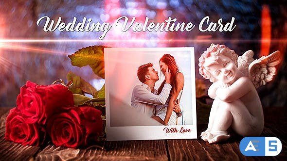 Videohive Wedding Valentine Card 19343478