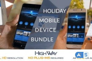 Videohive Holiday Mobile Device Bundle | Match Moving 19676952