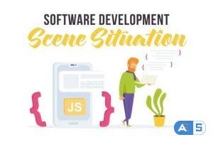 Videohive Software development – Scene Situation 27597217