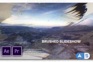 Videohive Brush Cinematic Slideshow 27803950
