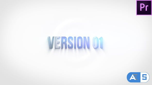 Videohive Clean Ripple Title 27106857