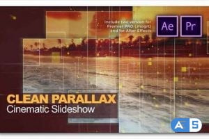 Videohive Clean Parallax Cinematic Slideshow 27594834