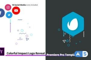 Videohive Colorful Impact Logo Reveal | For Premiere Pro 27278510
