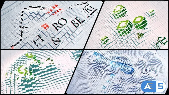 Videohive Corporate Logo V22 Cards Displacement 22426599