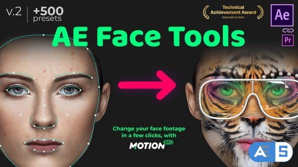 Videohive AE Face Tools V2 24958166