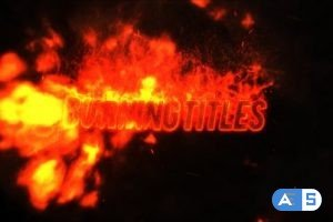 Videohive Fire Titles 27687384