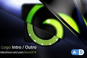 Videohive Glass Logo Intro / Outro 6562643