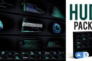 Videohive HUD Pack 4K 27858313