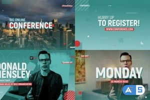 Videohive Online Conference Promo 26407445