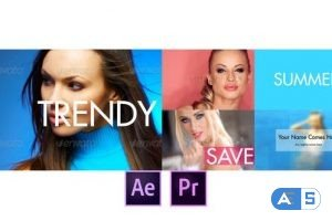 Videohive Fast and Dynamic Slideshow – Premiere Pro 27717042