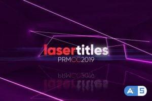 Videohive Laser Titles 25862273