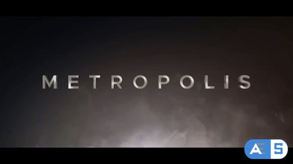 Videohive Metropolis Cinematic Trailer 24716018
