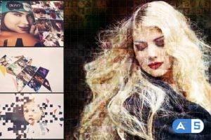 Videohive Mosaic Photo Animation 27441883