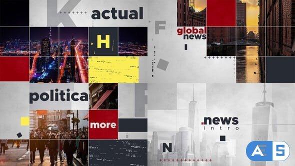 Videohive Global News Intro 24985905