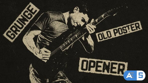 Videohive Grunge Old Poster Opener 27578965