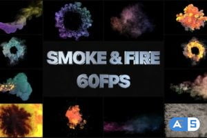Videohive Smoke And Fire VFX Simulation | After Effects 26353961