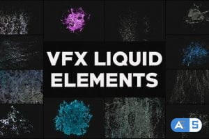 Videohive VFX Liquid Elements | After Effects 26522295