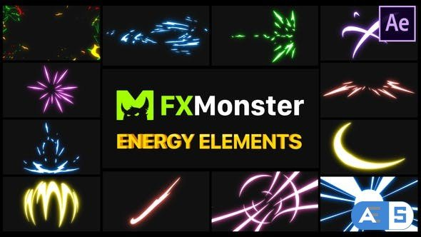 Videohive Energy Elements | After Effects 27597343