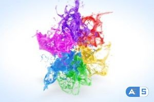 Videohive Playing Paints Logo Reveal 20717236